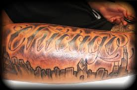 chicago skyline tattoo by bear yelp