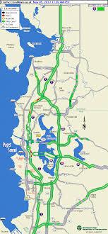 wsdot seattle traffic map wsdot seattle area flowmap