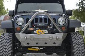 jeep cherokee stinger bumper 2007 2017 jk destroyer shorty front bumper w stinger guard