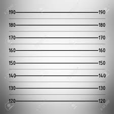 mugshot backdrop lineup or mugshot background in centimeter unit stock photo