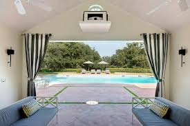 Pool Screen Privacy Curtains Sensational Design Ideas Cabana Curtains Pool Cabana Curtains For