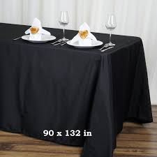 wholesale wedding linens 24 pcs 90x132 rectangle polyester tablecloths wholesale wedding
