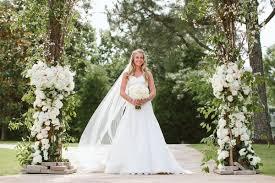 backyard wedding dresses an exquisite backyard wedding in tennessee inside weddings