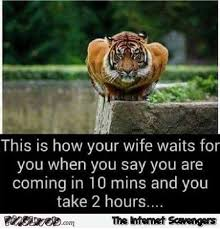 Late Meme - this is how your wife waits for you when you come home late funny