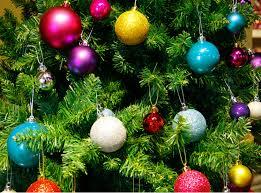 tree decoration balls rainforest islands ferry
