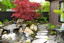 japanese garden design stock and hill landscapes