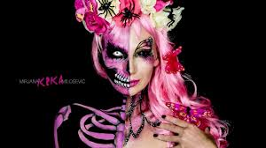 Butterfly Halloween Makeup by Nyx Face Awards Serbia 2016 Skull Butterfly Makeup Tutorial