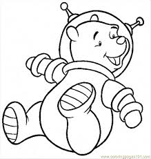 astronaut coloring page astronaut coloring page free winnie the pooh coloring pages