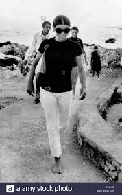 jacqueline kennedy jacqueline kennedy onassis on vacation in capri italy a