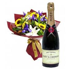 gift to india send flowers chagne to india online chagne and flowers