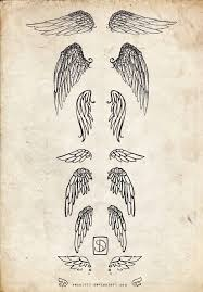 wings idea the bottom one either on the wrist