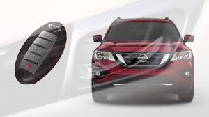 nissan pathfinder 2017 interior 2017 nissan pathfinder intelligent key and locking functions