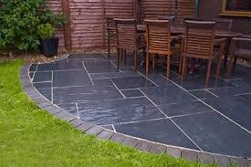 Done Deal Patio Slabs Blue Black Slate Paving Slabs Sawn Garden Natural Patio Stone