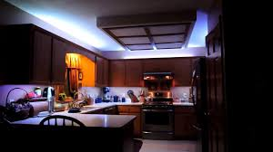 kitchen strip lighting kitchen cabinets remote controlled led strip lighting youtube