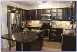 kitchen paint colors with dark oak cabinets painting home