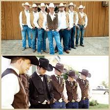 western wedding western wedding ideas rustic wedding groomsmen attire wear all