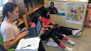 Picture Of Student Sitting At Desk by Flexible Seating In Middle School Edutopia