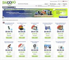 on the auction site swoopo paying to place each bid the new
