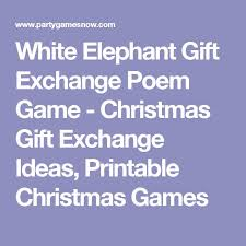 best 25 christmas gift exchange poem ideas on pinterest