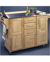 kitchen islands with stainless steel tops savings one allium way menthe kitchen island with in islands