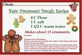 ornaments dough recipe rainforest islands ferry