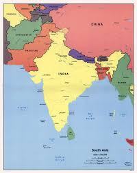 Map Of Asia Countries by Large Detailed Political Map Of South Asia U2013 1998 Vidiani Com