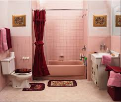 1950s home decor bathroom smooth pink for children home decor ideas retro tile