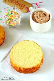 condensed milk vanilla cake with nutella buttercream