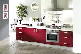 cuisine parme cuisine couleur bordeaux brillant cuisine equipee cuisine
