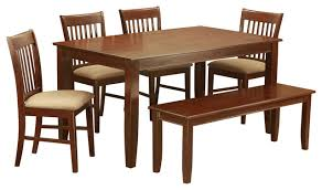 Bench And Chair Dining Sets Duno6d Mah Kitchen Table Set Transitional Dining Sets By