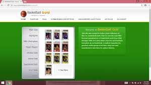 company cards basketball gold company cards are focus of new website