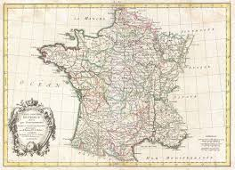 Maps France by File 1771 Bonne Map Of France Geographicus Francegov Bonne