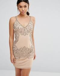 boohoo dresses bodycon boohoo boutique beaded cut out bodycon