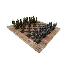 Modern Chess Table Chess Usa Dragon Kingdom Chess Set Marble Board Game Of