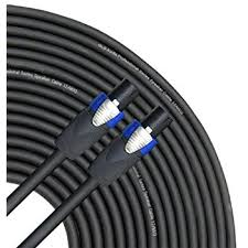 amazon com gls audio 50 feet speaker cable 12awg patch cords 50