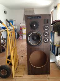 kenwood home theater system needed some speakers for our clubhouse so rescued a pair of