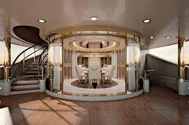 Yacht Interior Design Ideas Numero Tre Collection Www Turri It Luxury Yacht Dining Room