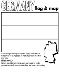 flag coloring page printable image of german black and white