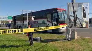 lexus service in ramsey nj flying tire crashes through bus windshield on new jersey highway