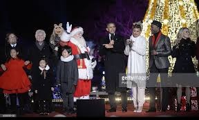 national christmas tree lighting at the white house photos and