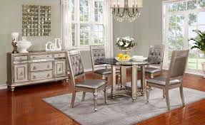 Transitional Dining Room Sets Round Dining Table Co Daniela Urban Transitional Dining