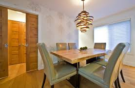 elegant chandeliers dining room modern leather chairs design furniture and rustic hanging light