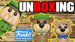 funko pop yogi bear boo boo u0026 ranger smith exclusive unboxing