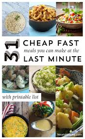 31 cheap last minute real food dinner ideas nourishing