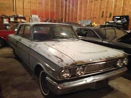 1964 ford fairlane 500 2dr sedan post original v8 3 speed manual