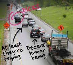 Traffic Meme - zipper merge why your meme is wrong