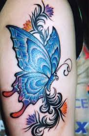 butterfly tattoos becoming the rage tatring