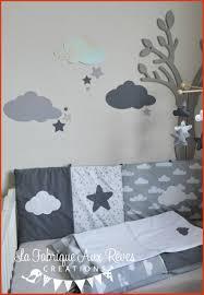 stickers étoile chambre bébé deco chambre bebe nuage stickers nuages étoiles gris foncé