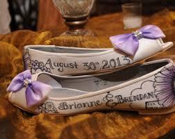 wedding shoes indonesia painted wedding shoe etsy
