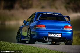 subaru coupe rs the ripsnorting anti laggingspeed industries impreza speedhunters